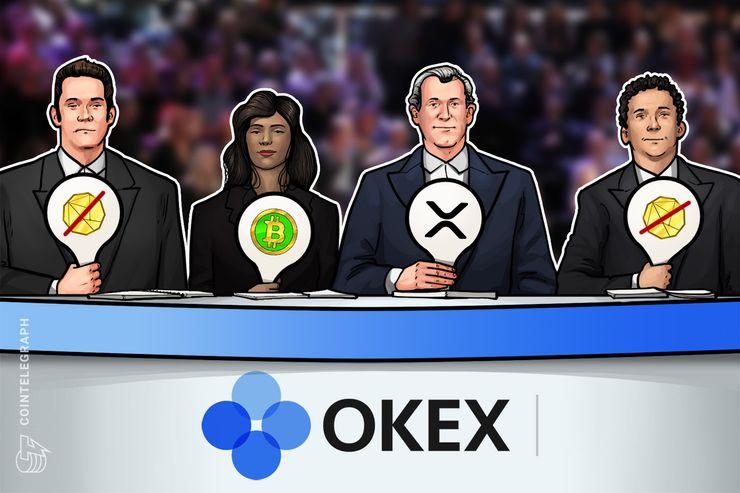OKEx empieza a cotizar Ripple y Bitcoin Cash en su plataforma de cliente a cliente