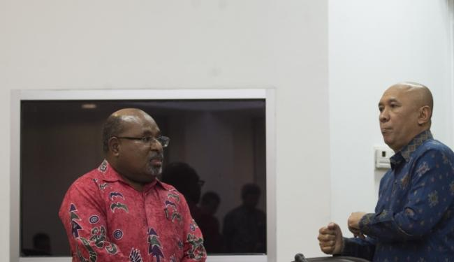 © Warta Ekonomi. Gubernur Akui Pileg di Papua Berpotensi Ricuh