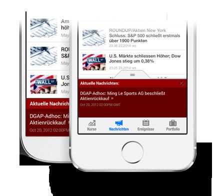 App Aktuelle Finanznachrichten