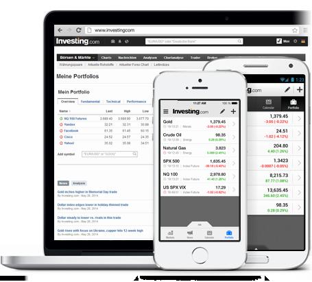 App Finanz-Portfolio