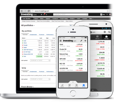 Financial Portfolio App