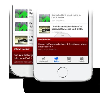 App Ultime Notizie Finanziarie