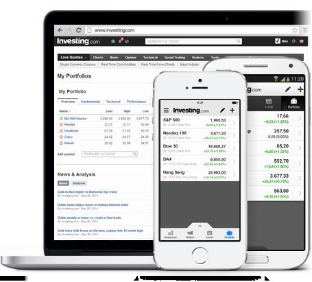 App Portafoglio Finanziario