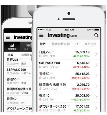 リアルタイム株式・アプリ