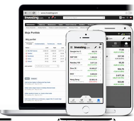 Aplikacja portfela finansowego