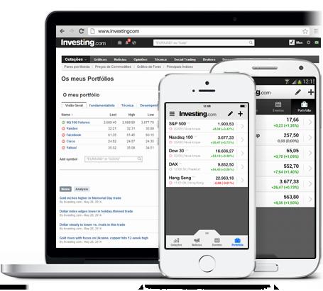 Aplicativo de Portfólio Financeiro