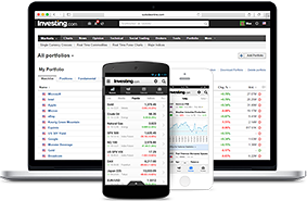 Monitor your financial instruments and track your holdings with Investing.com portfolios