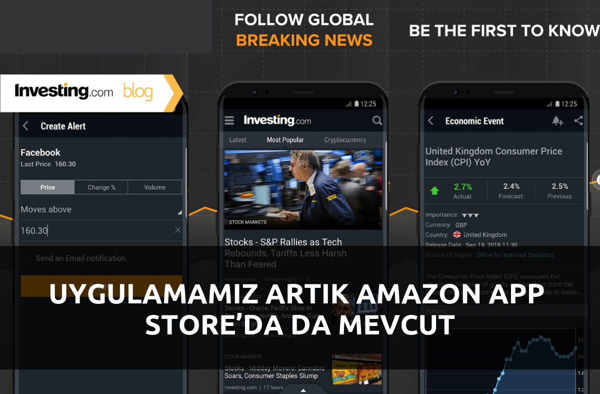 Uygulamamız Artık Amazon App Store'da da Mevcut