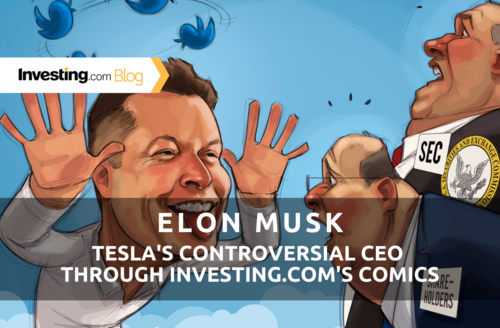 Elon Musk: Tesla's Controversial CEO Through Investing.com's Comics