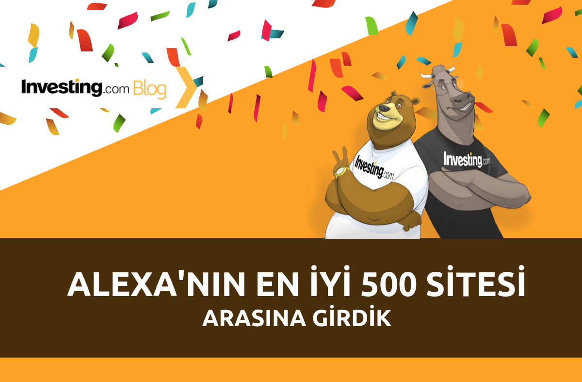 Investing.com Alexa'nın En İyi 500 Sitesi Arasına Girdi