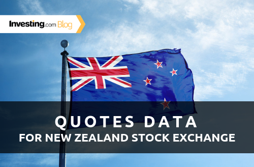Investing.com Adds Real-Time Data for New Zealand Stock Exchange