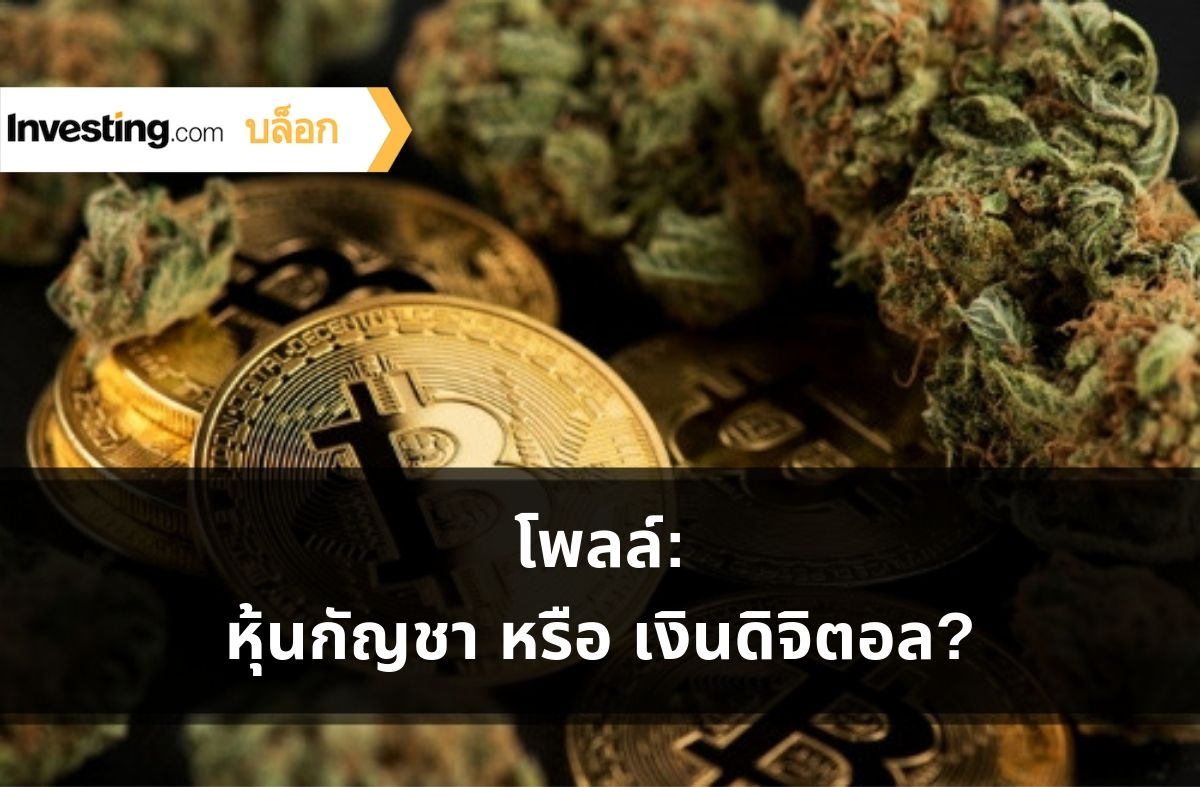 Investing.com โพลล์: หุ้นกัญชา หรือ เงินดิจิตอล? เราถาม คุณตอบ!