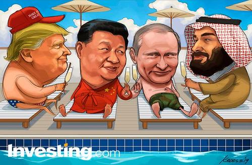 كاريكاتير: المهمة أنجزت، ارتفاع الأسهم والنفط نتيجة إيجابية لمجموعة العشرين