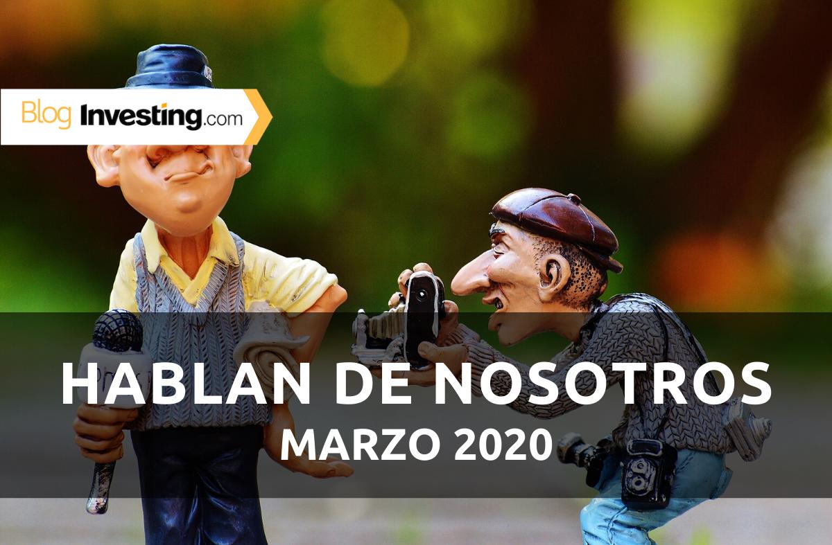 Investing.com España en los medios: Marzo 2020