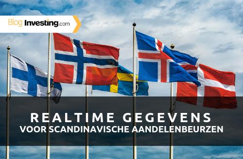 Investing.com voegt realtime gegevens toe voor de Scandinavische beurzen