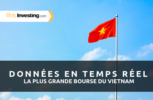 Nous venons d'ajouter les données en temps réel pour la bourse du Vietnam