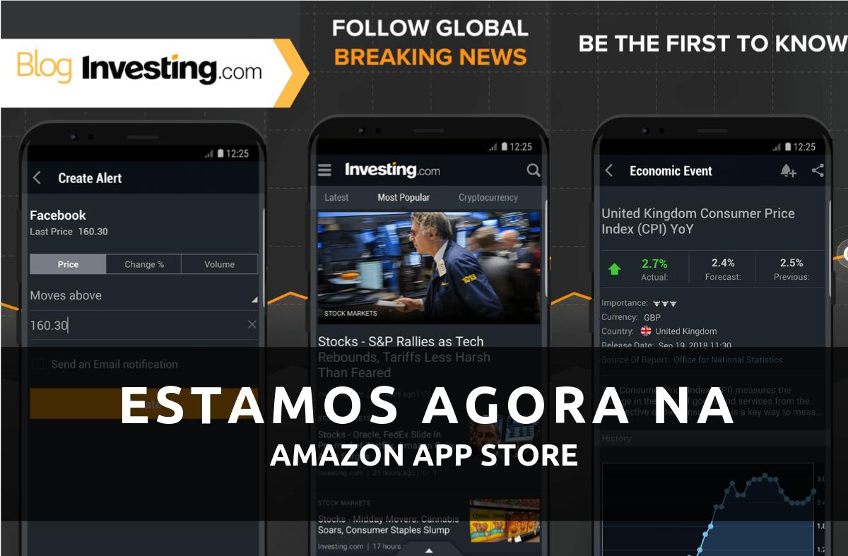 Estamos agora disponíveis na Amazon App Store