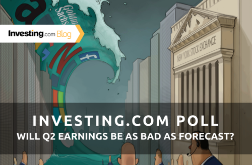 Investing.com Poll: Will Q2 Earnings Season Be As Bad As Forecast?