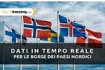 Investing.com aggiunge i dati in tempo reale sulle borse dei paesi nordici