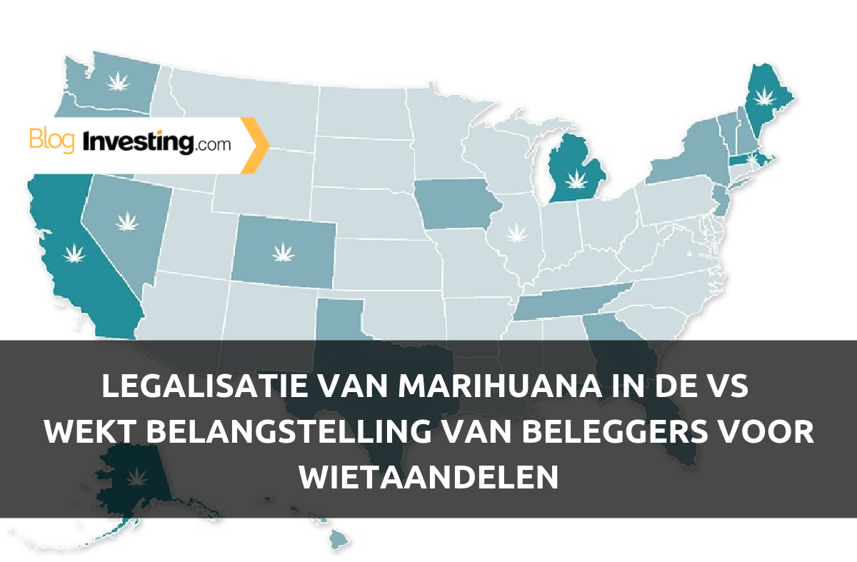 Legalisatie van marihuana in de VS wekt belangstelling van beleggers voor wietaandelen