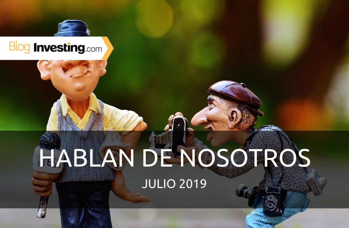 Investing.com España en los medios: Julio 2019
