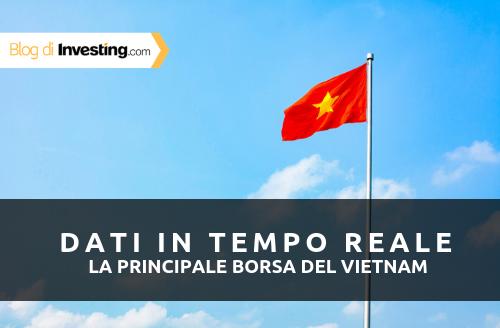 Aggiunti i dati in tempo reale per la Borsa del Vietnam