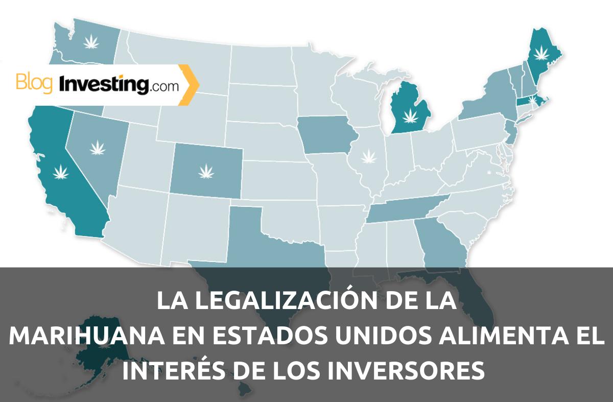 La legalización de la marihuana en Estados Unidos alimenta el interés de los inversores en las acciones del cannabis
