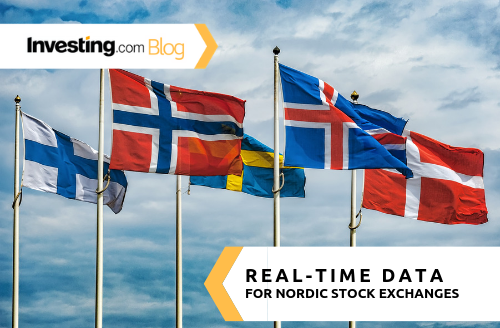 Investing.com Adds Real-Time Data for Nordic Stock Exchanges