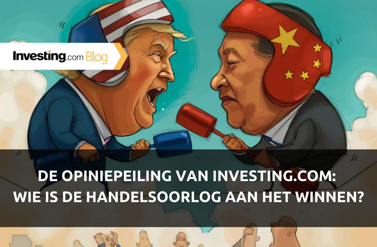 De opiniepeiling van Investing.com: Wie is de handelsoorlog tussen de VS en China aan het winnen? Wij stelden de vraag, u gaf antwoord!