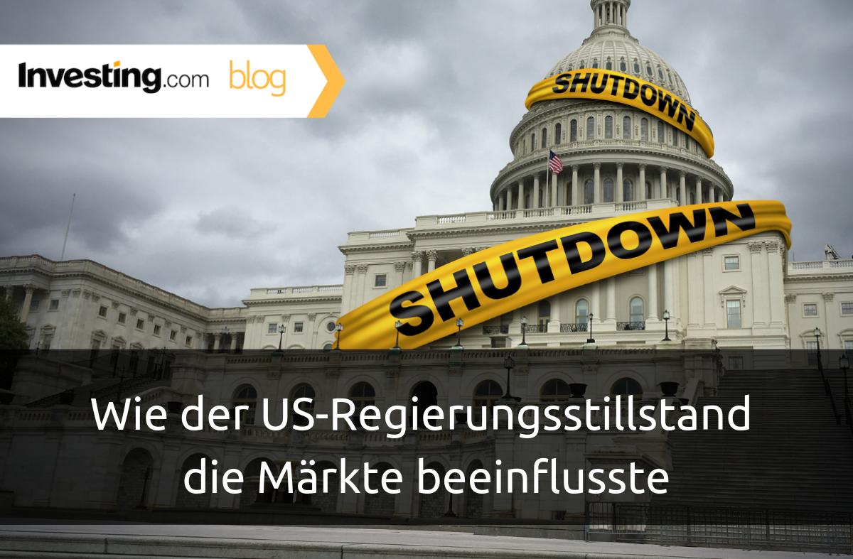 Wie der US-Regierungsstillstand die Märkte beeinflusste
