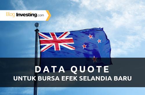 Investing.com Menambah Data Quote dari Bursa Efek Selandia Baru