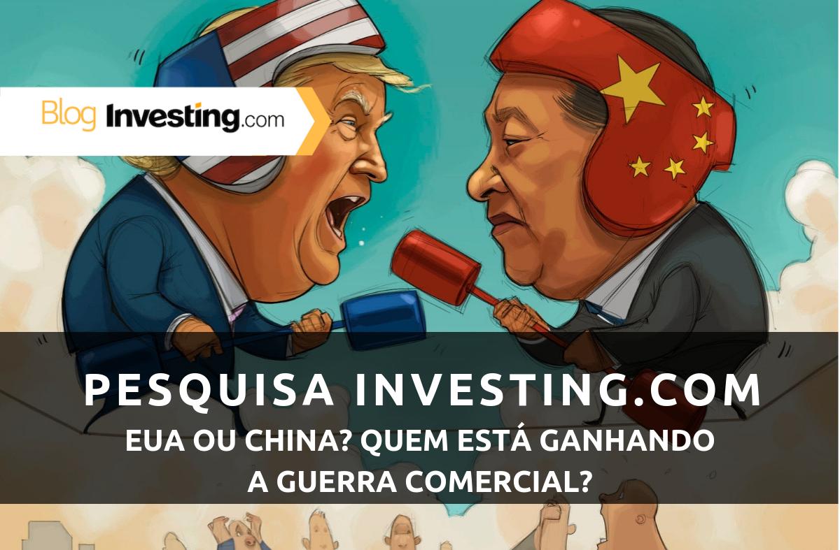 Pesquisa de opinião da Investing.com: Quem está vencendo a guerra comercial Estados Unidos vs. China? Nós perguntamos, você respondeu!