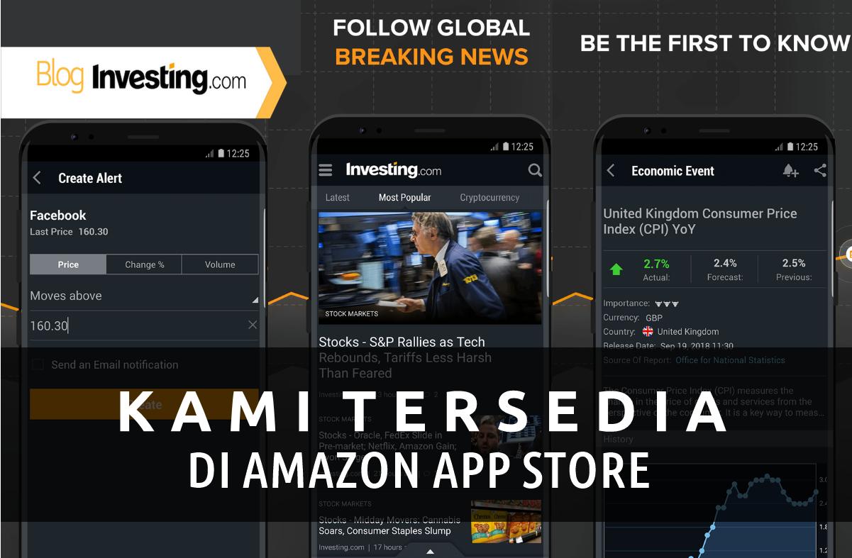 Kami Tersedia di Amazon App Store