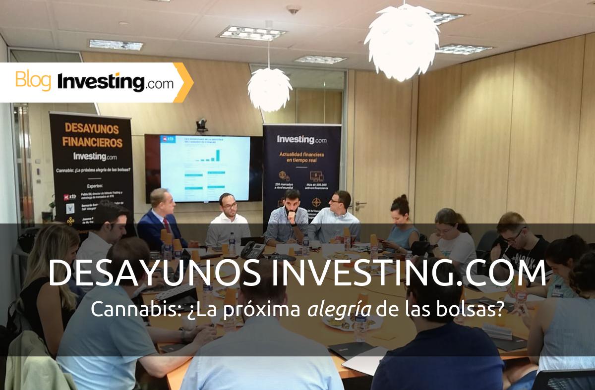 Desayunos Financieros Investing.com: Cannabis, ¿La próxima alegría de las bolsas?