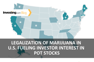 Legalization of Marijuana in U.S. Fueling Investor Interest in Pot Stocks