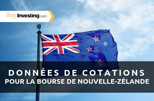Investing.com ajoute les données sur les cours de la Bourse de Nouvelle-Zélande