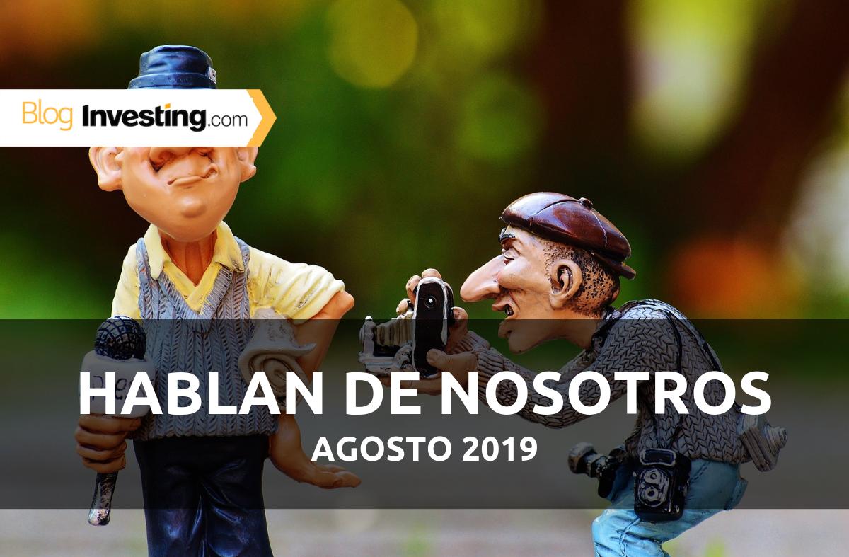 Investing.com España en los medios: Agosto 2019