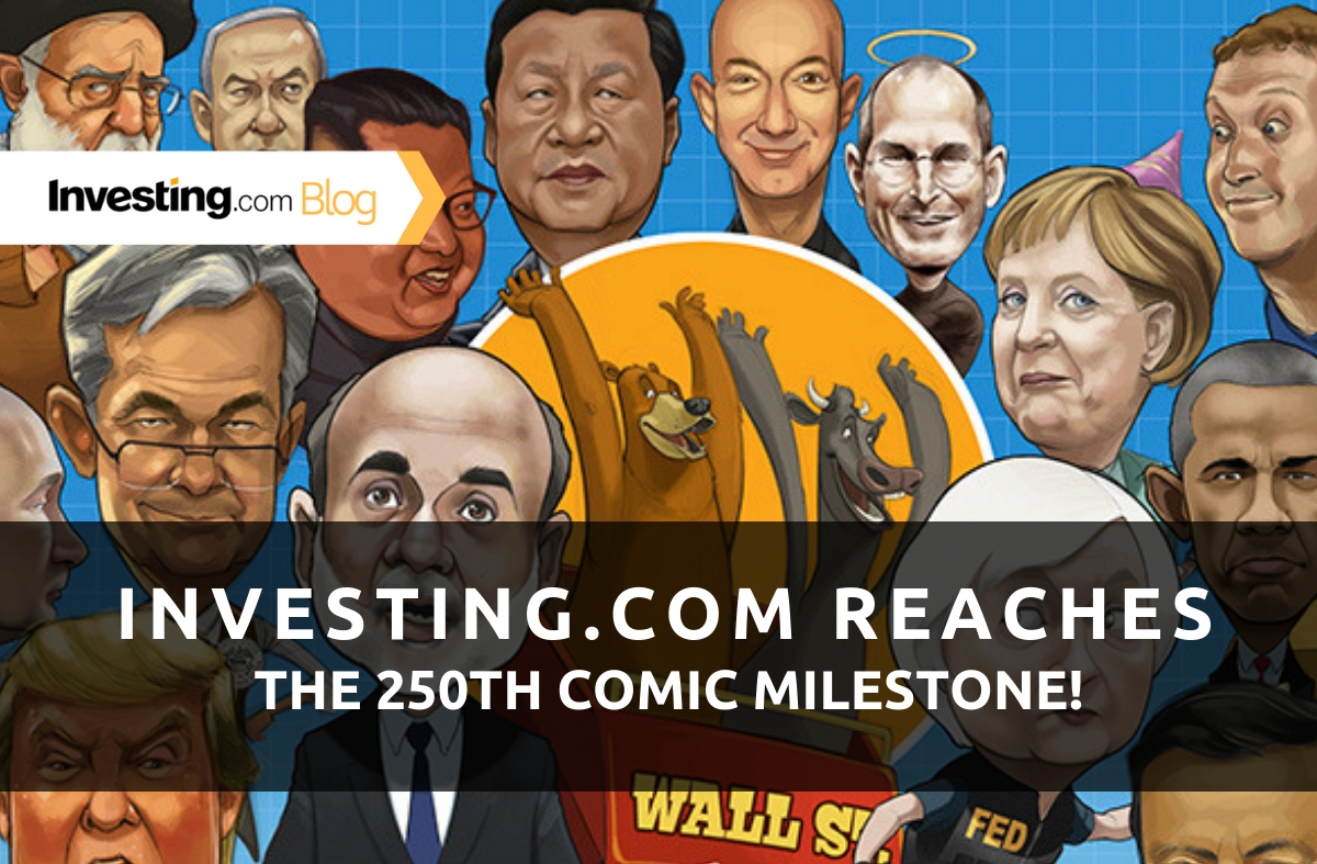 Investing.com Reaches The 250th Comic Milestone!