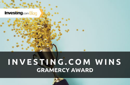 Investing.com Wins at the Gramercy Financial Content Marketing Awards