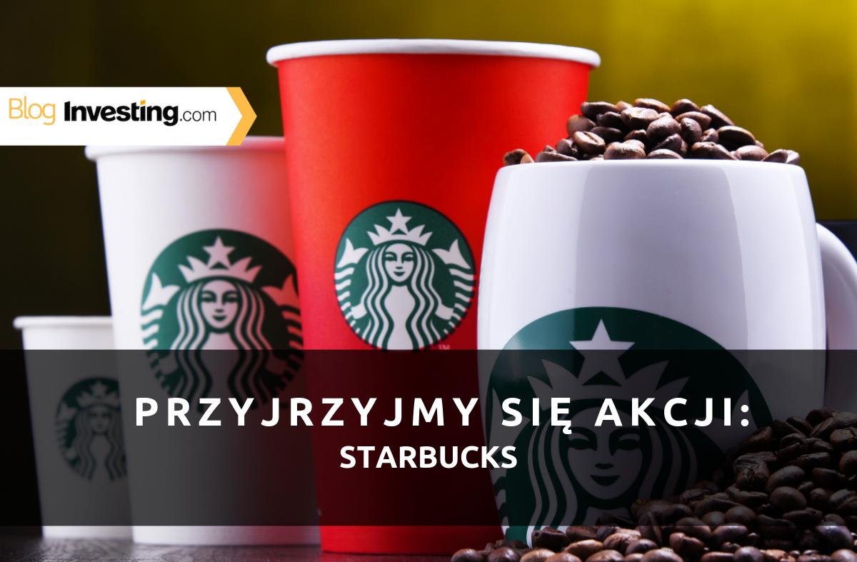 Akcje w centrum zainteresowania, edycja dla miłośników jedzenia: Starbucks