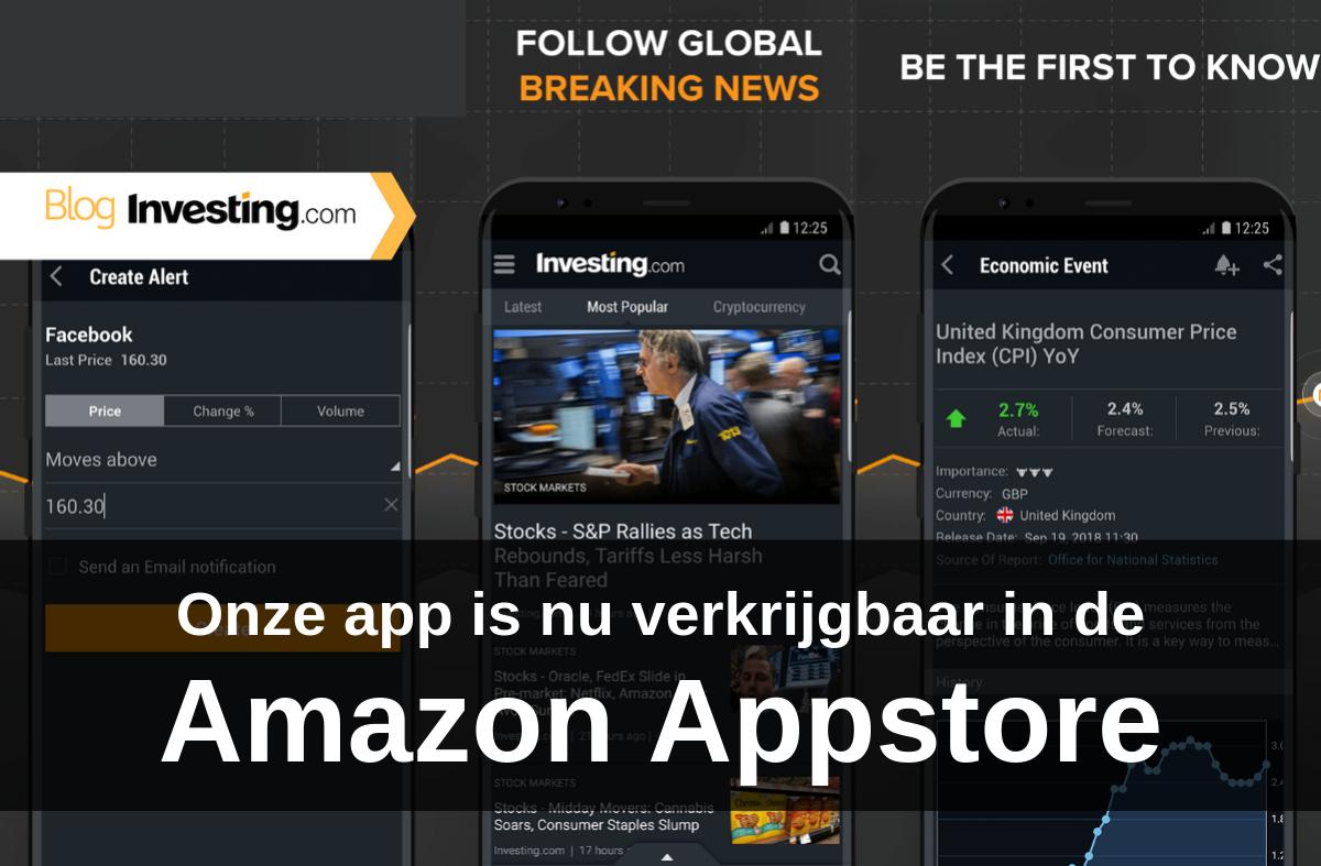 Onze app is nu verkrijgbaar in Amazon Appstore