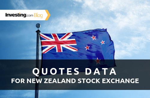 New: Real-Time New Zealand Stock Exchange Data