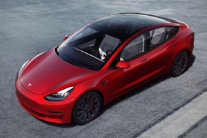 Teslas stock has jumped an astonishing 427% from...