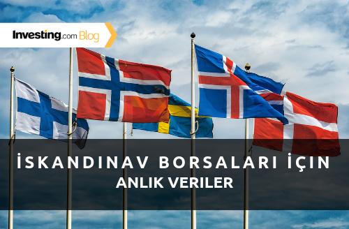 Investing.com İskandinav Borsalarının Anlık Verilerini Yayınlıyor