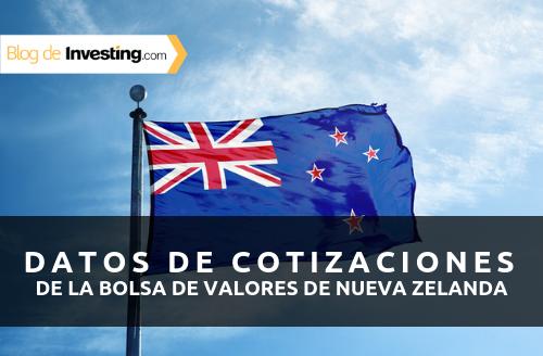 Investing.com ofrece desde hoy cotizaciones de la bolsa de valores de Nueva Zelanda