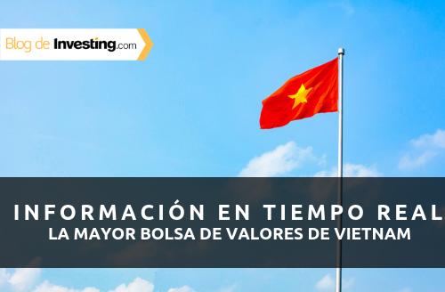 Hemos añadido datos en tiempo real de la bolsa de valores de Vietnam