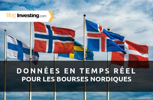Investing.com Ajoute des Données en Temps Réel pour les Bourses Nordiques