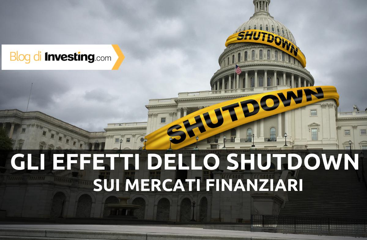 Come lo shutdown del governo USA ha colpito i mercati