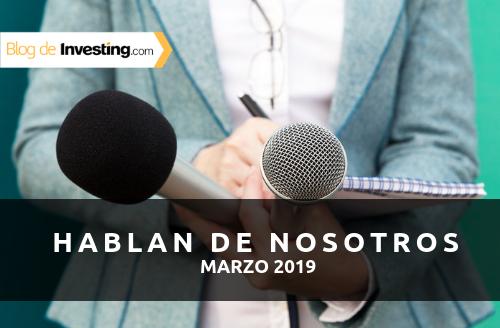 Investing.com España en los medios: Marzo 2019