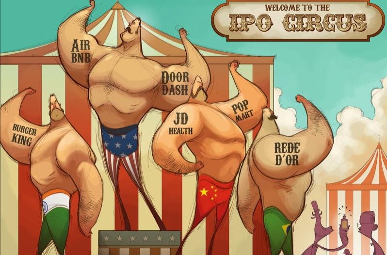 Уолл-Стрит «перекачан» IPO